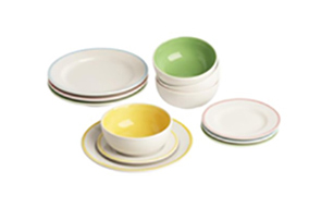 Playhouse plates and bowls