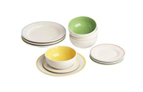 Playhouse plates and bowls